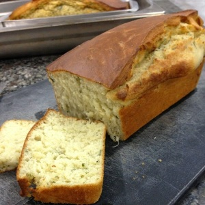 pão de linhaça e de ervas