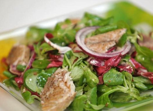 salada de rucula
